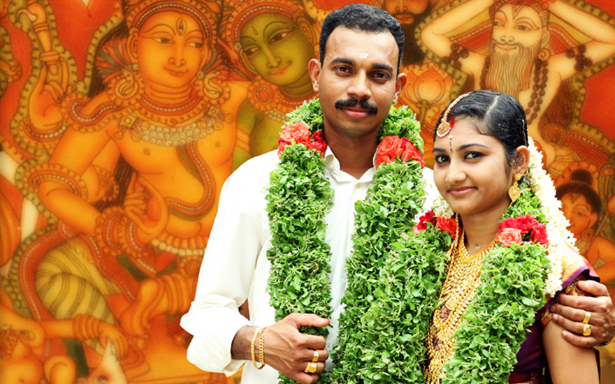 Anoop-and-Neethulekshmi-Wedding--Happily-Married